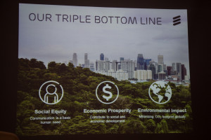 Ericsson triple bottom line