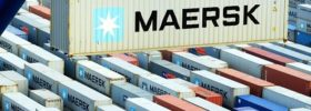CO2 emission reduction in Maersk